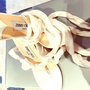 Jimmy Choo new tie up shoe/ sandal